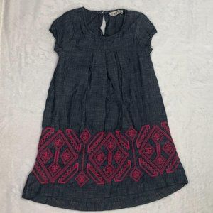 Tucker Tate Girls Dress Size 5 Embroidered